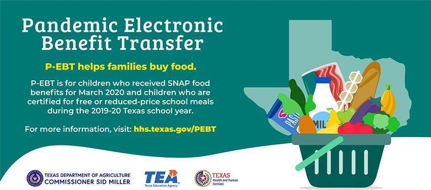 Click Here for P-EBT Food Benefits for Families