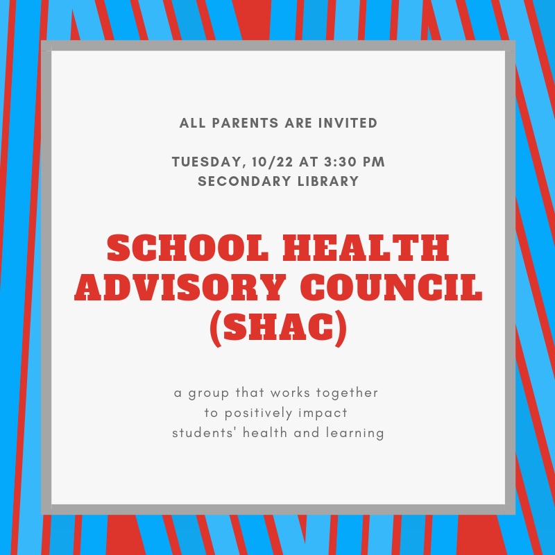 SHAC Meeting