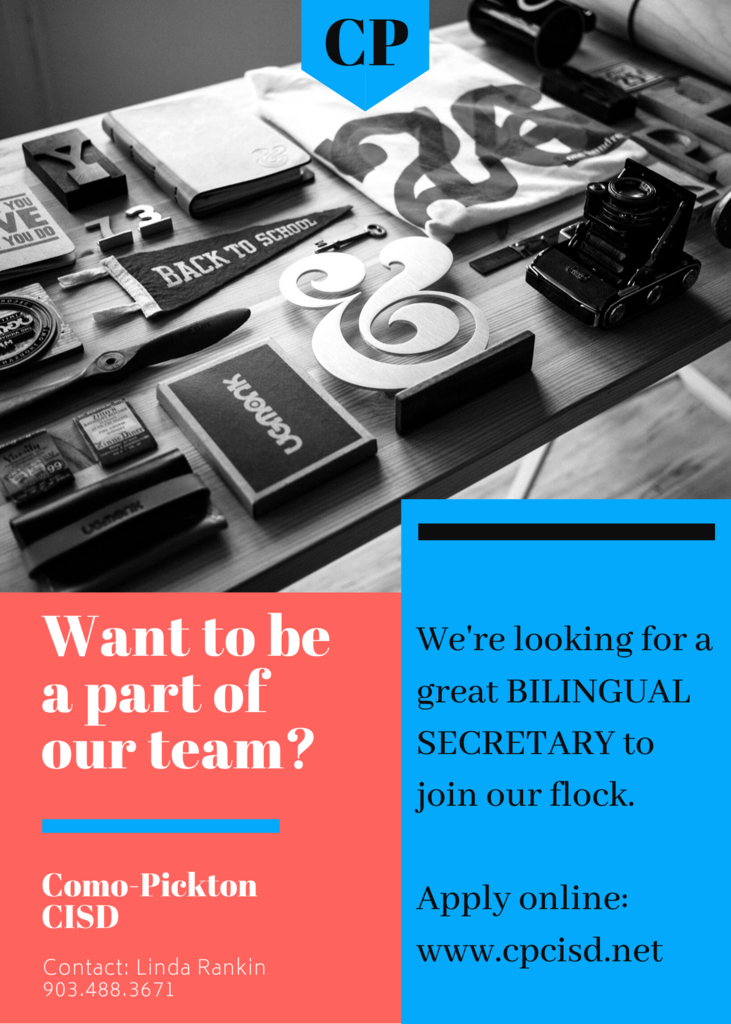 bilingual secretary needed