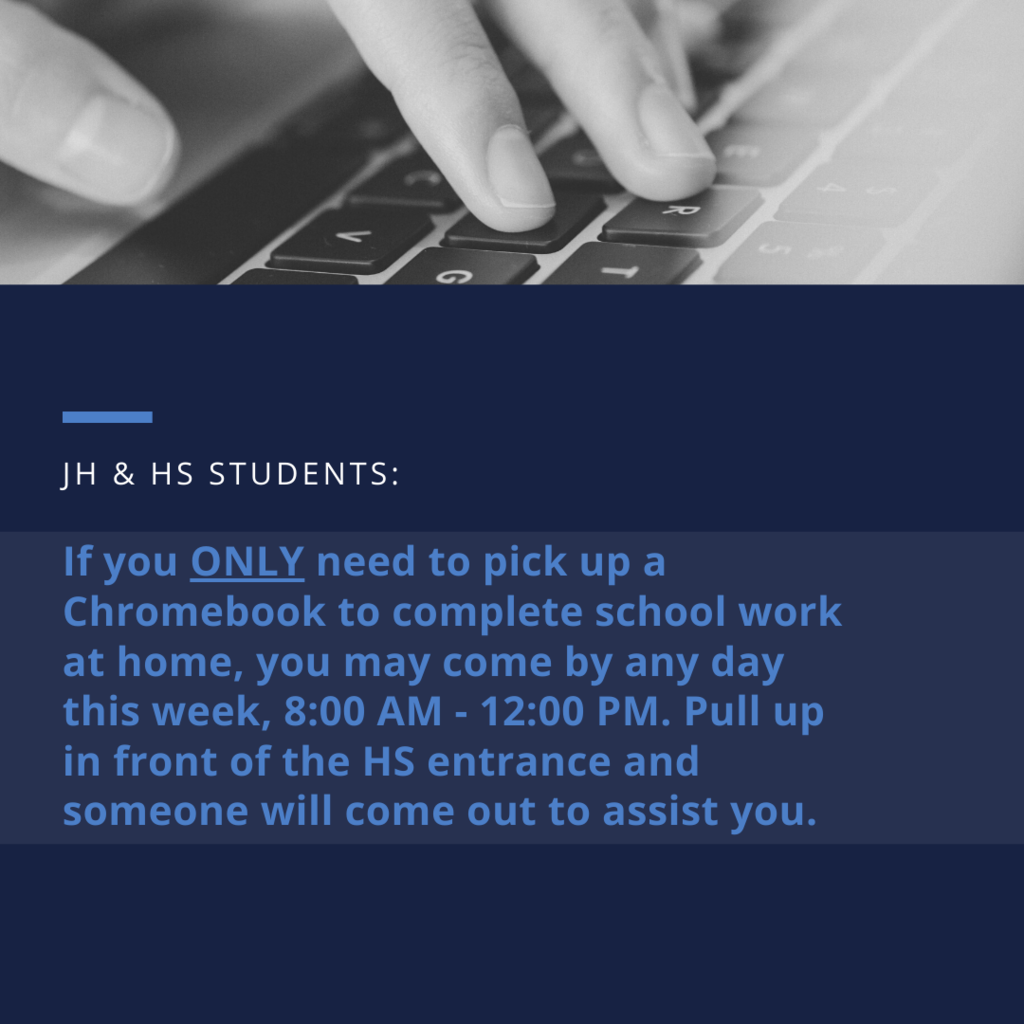 Chromebook pick up