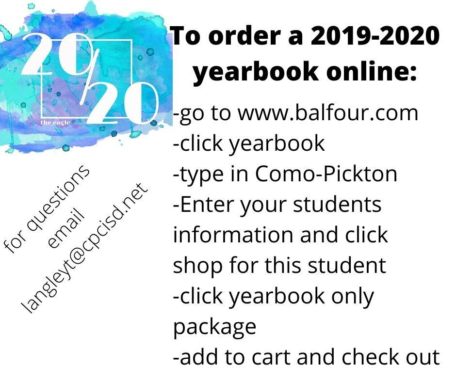 How to order a yearbook